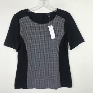 Ann Taylor Illusion Top Stretch NWT #558